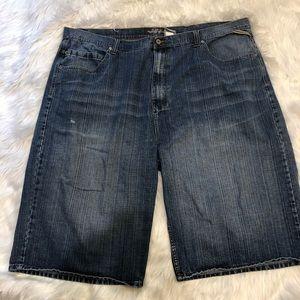 """RB Royal Blue shorts size 50w x 15.5"""" medium wash"""